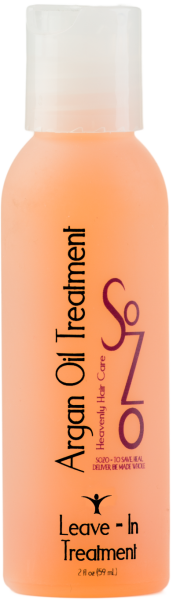 SoZo Argan Oil Leave-In Treatment 2oz (Medium)