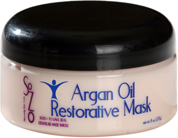 SoZo Argan Oil Restorative Mask 8oz (Medium)