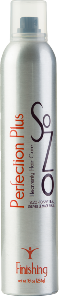 SoZo Perfection PLUs Hairspray2 10oz (Medium)