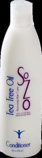 SoZo Tea Tree Oil and Peppermint Conditioner 8oz (Medium)