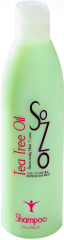 SoZo Tea Tree Oil and Peppermint Shampoo 8oz Brighter (Medium)