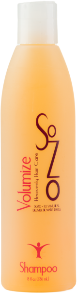 SoZo Volumize Shampoo 8oz (Medium)